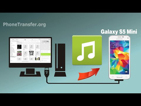 How to Import Songs to Galaxy S5 Mini, Copy Music from Computer to Samsung Galaxy S5 Mini