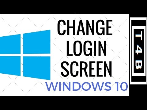 How to Change Windows 10 Login Screen BackGround Wallpaper