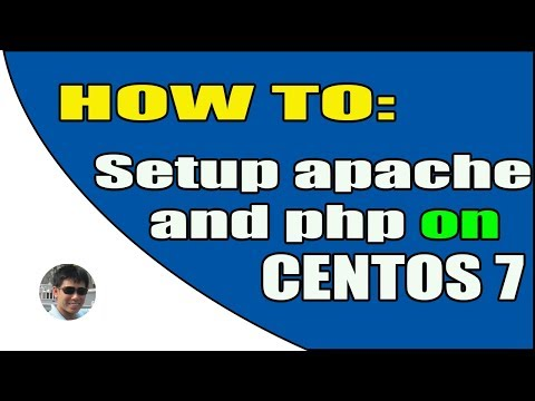 How to setup apache, php and config virtualhost on linux centos 7