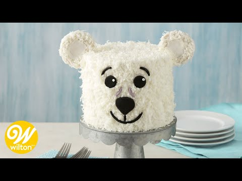 How to Make a Polar Bear Cake