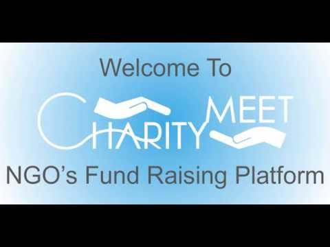 Charity Meet, NGOs fund raising platform to collect donations for free