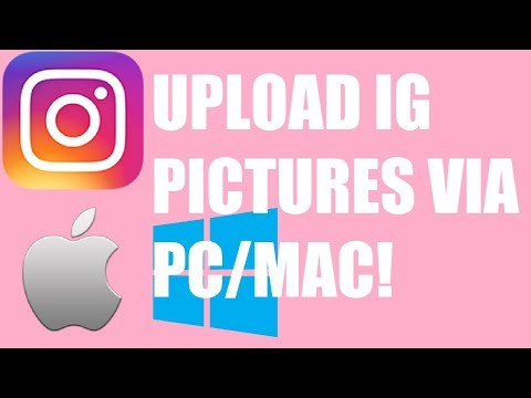 How To Upload Photos To Instagram Via PC/MAC (FREE, NO DOWNLOAD - EASY LIFE HACK)
