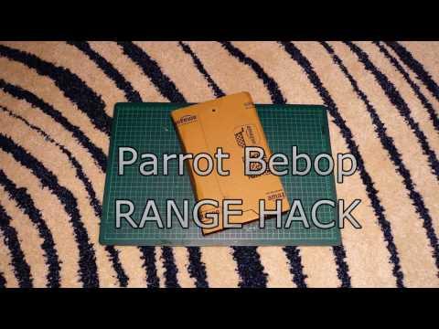 Parrot Bebop Range Hack - English Version