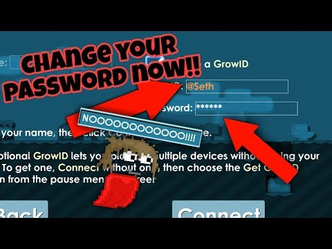 CHANGE YOUR PASSWORD !!! | Growtopia
