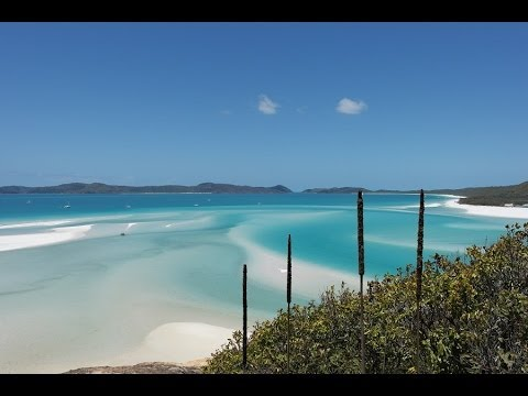 Whitehaven Beach - Whitsunday Island BEST BEACH IN THE WORLD!