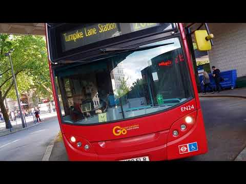 Blind change on Go Ahead London EN24 (LK08 FLR)