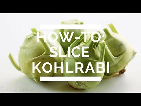 How-To: Slice Kohlrabi