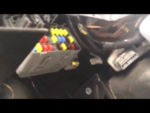 2004 Honda Civic Fuse Box Location