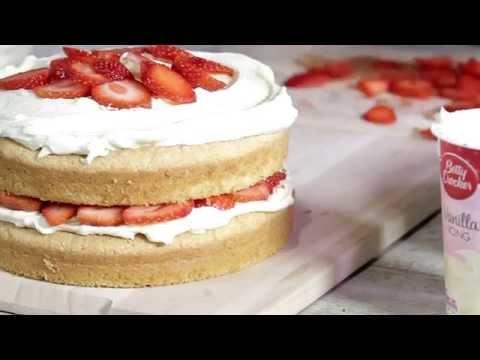 Strawberry and Cream Cake Recipe - Betty Crocker™