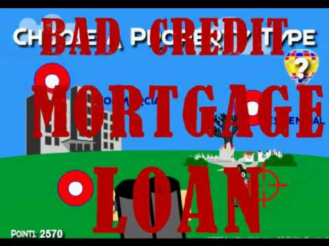 BAD CREDIT MORTAGE LOANS