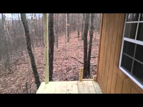 24x12 cabin with 24x5 front porch