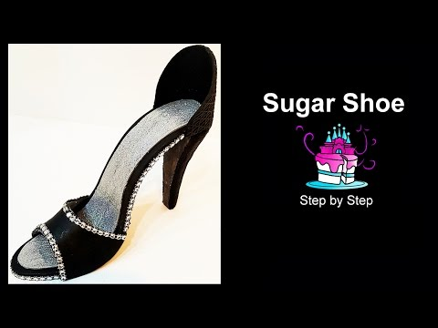 How to Make a Sugar Shoe - Step by Step