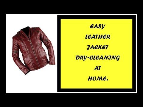 Leather Jacket Dry-Cleaning at Home | सिर्फ 10 मिनट में घर पर कीजिये लेदर जैकेट की ड्राई-क्लीनिंग
