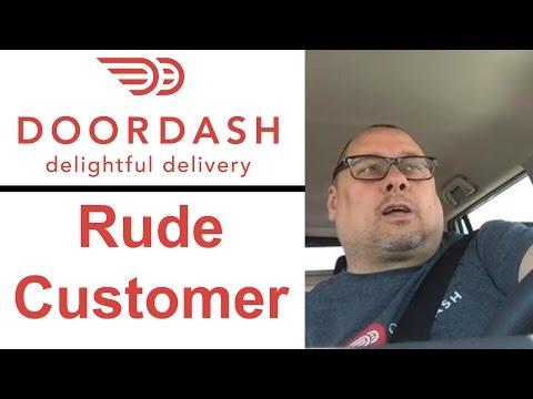DoorDash - Rude Customer - President Lincoln Appearance