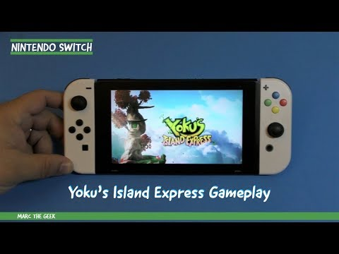 Nintendo Switch: Yoku's Island Express Gameplay