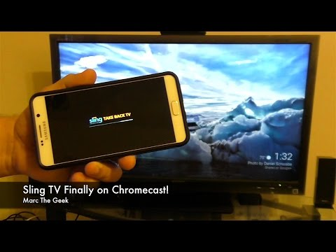 Sling TV Finally on Chromecast!