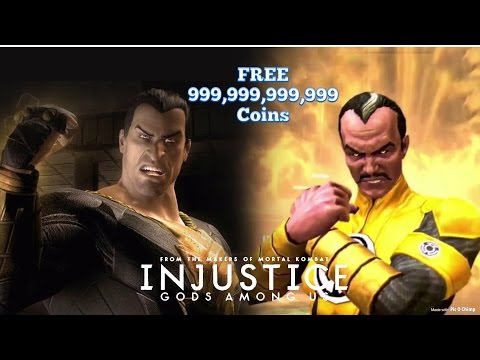 Injustice gods among us! How to get free 999,999,999,999 million coins //iOS // 2.8 update