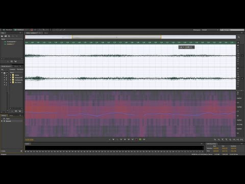 Adobe Audition Tutorial 1 - Bit Depth and Sampling Rate