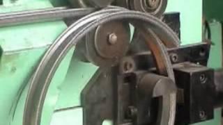 Automatic bike rim forming machine