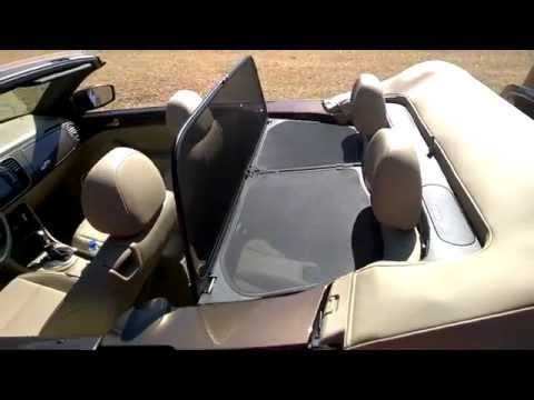 How To Install Wind Deflector 2015 VW Beetle Convertible TDI