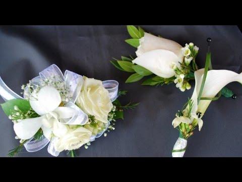 Calla Lily Wedding Corsages