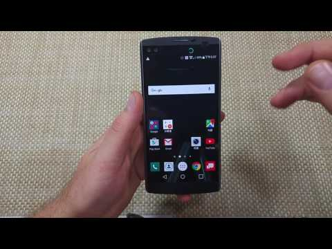 LG V10 How to change your Language settings back to English or any available Language