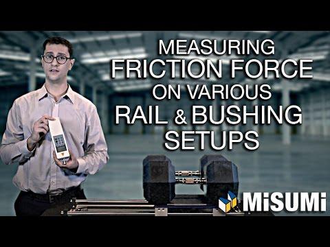 Friction Force on Rail and Bushing Setups | Engineer to Engineer | MISUMI USA