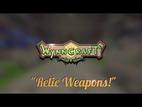 Wynncraft 1.14: All 4 Relic Weapon Locations!