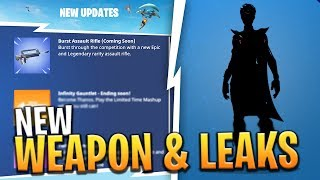 New Burst Rifle Coming Tomorrow New Skins Pickaxes And