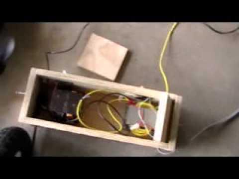 How to make a homemade Welder (diagram)
