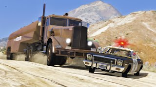 King of the Road - GTA 5 Action movie