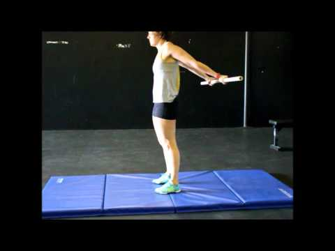 Standing Shoulder Extension