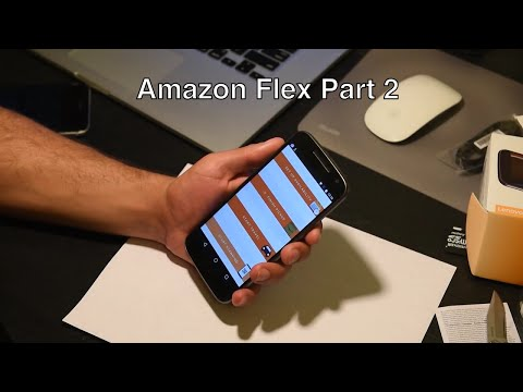 Amazon Flex part 2 - Best phone fit and App install