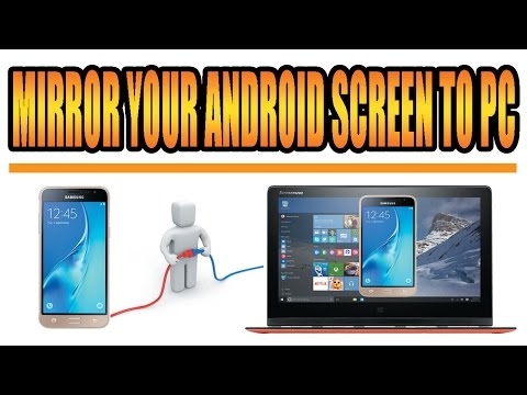 How To Mirror ?Project Your Android Mobile Screen On PC [urdu/hindi]