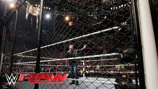 Dean Ambrose fordert Chris Jericho zu einem Asylum Match bei Extreme Rules heraus: Raw, 16. Mai 2016