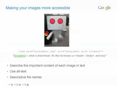 How to make your website accessible in Google (2 of 7).flv