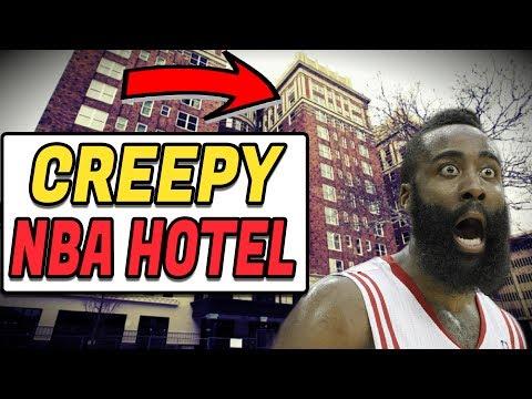 (CREEPY) The STORY of a HAUNTED NBA HOTEL