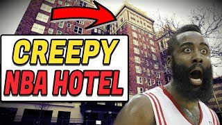 (CREEPY) The STORY of a HAUNTED NBA HOTEL