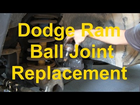 Dodge Ram Ball Joint Replacement