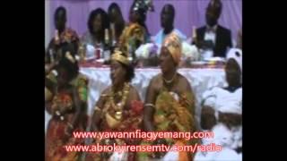 Nana Ama Kyerekua At Nana Owiredua Bamoah Samanpa Inauguration