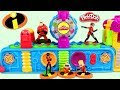 The Incredibles Characters Visit Play Doh Mega Fun Factory Playset