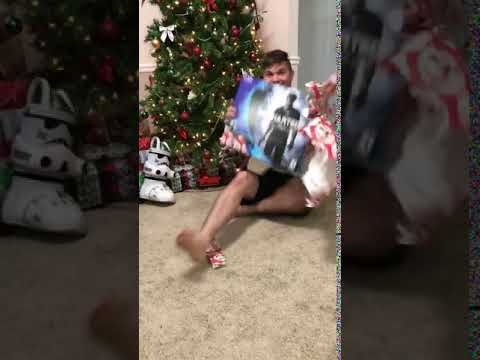 Reaction On Getting A ps4 For Christmas 2017 lol