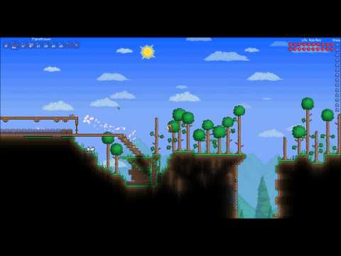 Terraria 1.1 All Items Map Download.