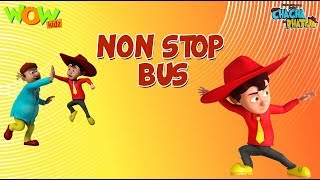 Non Stop Bus - Chacha Bhatija - 3D Animation Cartoon for Kids - As seen on Hungama