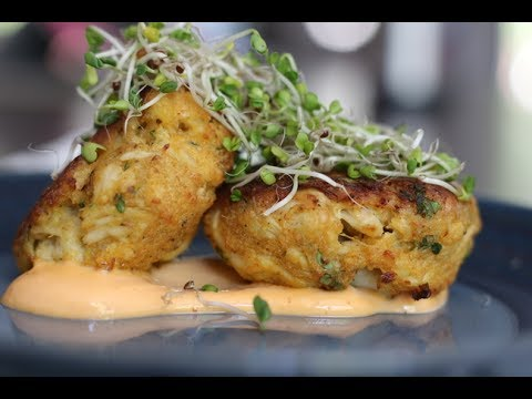 CRAB CAKE | Napa Valley Restaurant Style Oven Baked Crab Cake Recipe