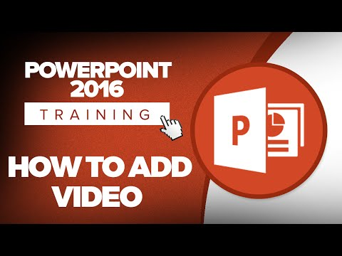 How to Add Videos to a Microsoft PowerPoint 2016 Presentation