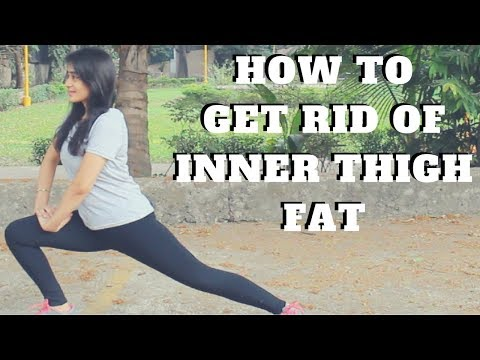 How To Get Rid Of Inner Thigh Fat | 5 Simple Exercises | WORKitOUT