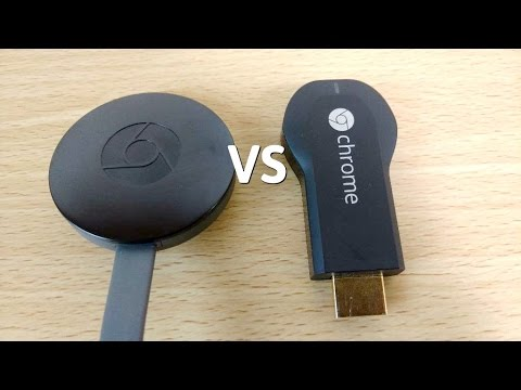 Google Chromecast 2 VS Chromecast 1 - Which is Fastest?