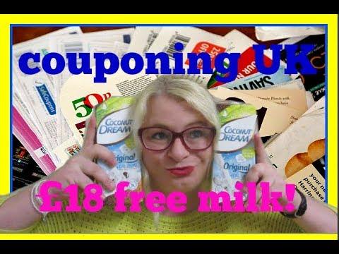 12 cartons of FREE MILK using COUPONS! | uk couponing