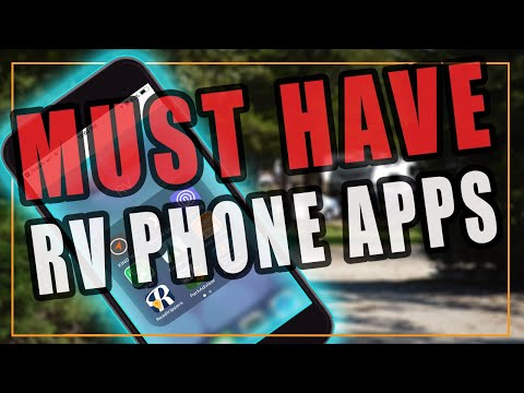 🔴 RV Travel Apps for 2018 - Top 5